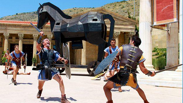 dinopolis 10 parques de atracciones para niños terra mitica