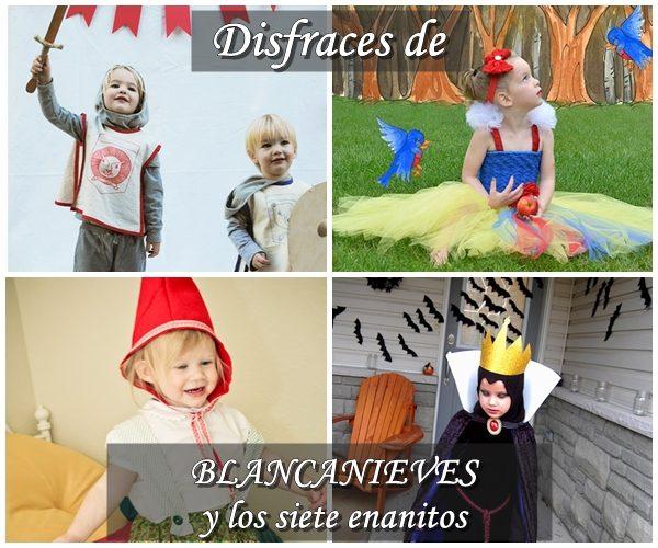 Disfraces infantiles de Blancanieves y los Siete Enanitos