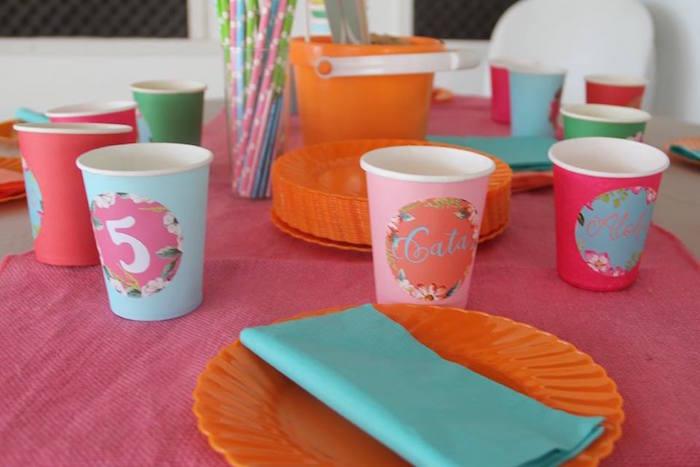 fiesta-de-flamencos-platos-vasos