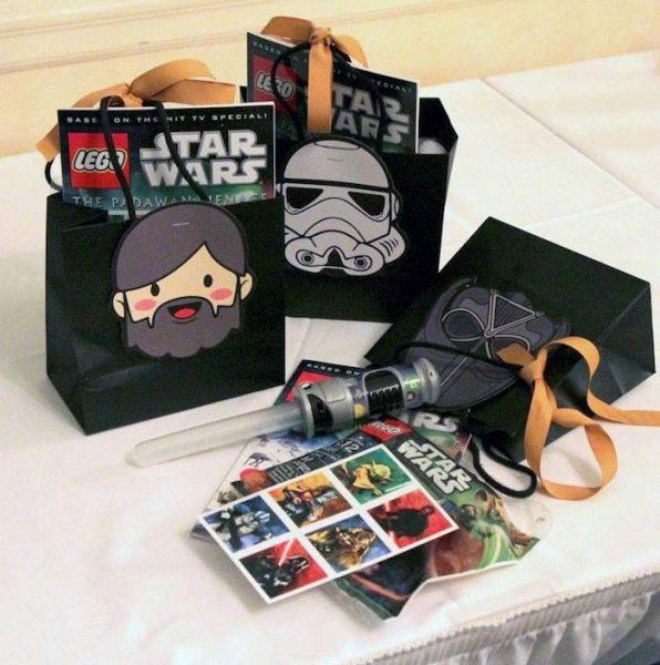 fiesta de star wars regalos para los invitados