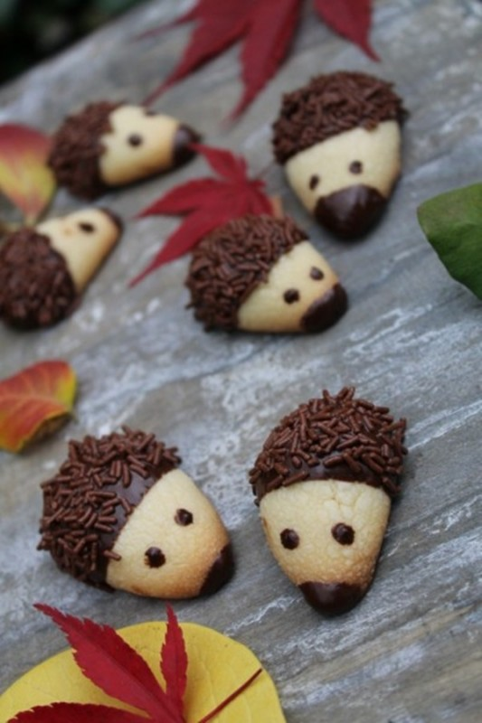 galletas de chocolate animales