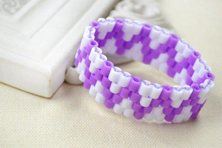 hacer pulsera en hamma beads