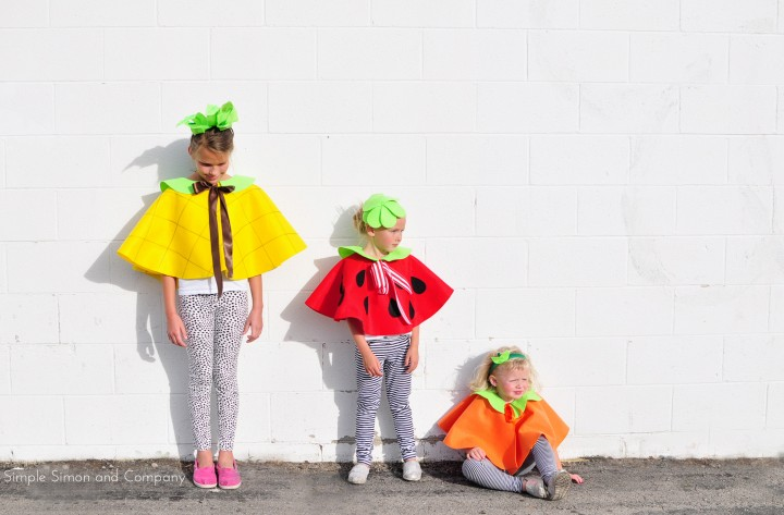 Disfraces de Frutas para Niños