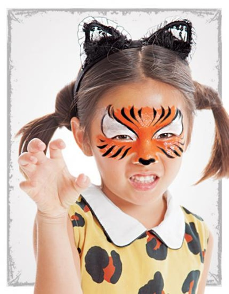 maquilla infantil tigre