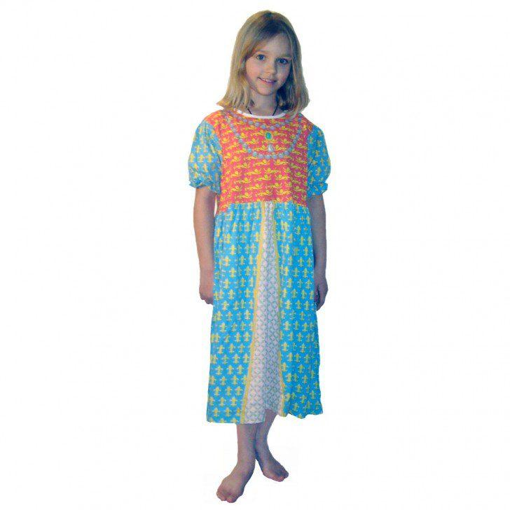 pijamas y disfraces - princesa medieval