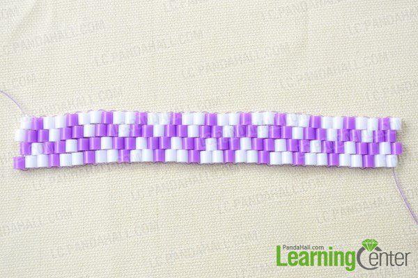 pulsera para niñas con hama beads conectar la pulsera