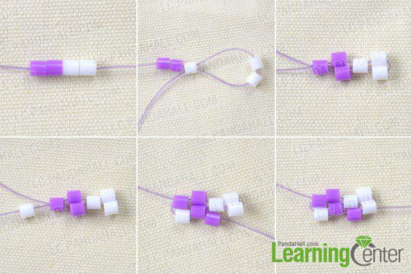 pulsera para niñas con hama beads primeros pasos