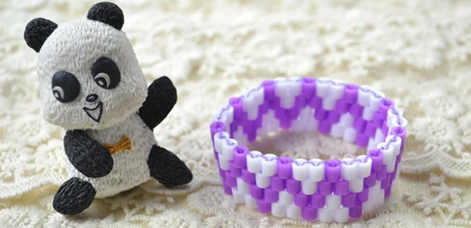 Pulsera Para Niñas con Hama Beads