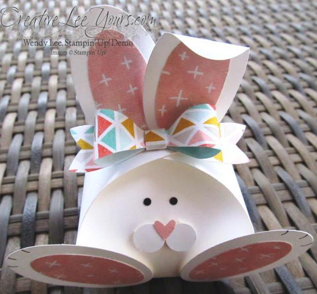 Caja con forma de Conejo para Pascua