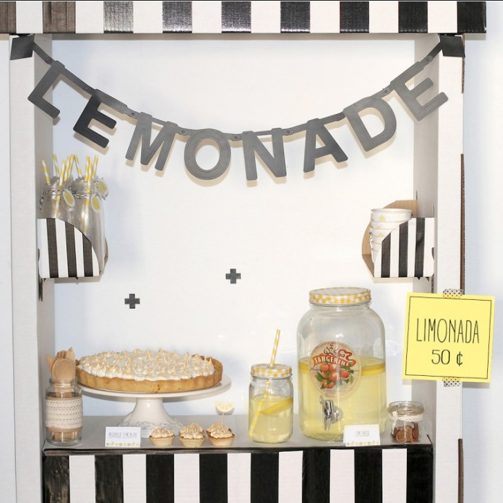 Imprimibles para fiestas temáticas limonada