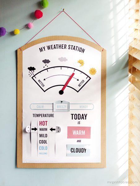 Manualidades Educativas: Hacer una Estación Meteorológica