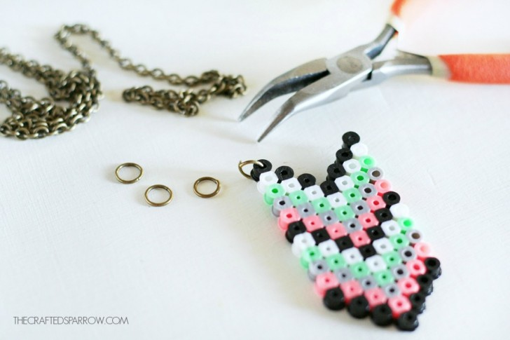 collares con hama beads