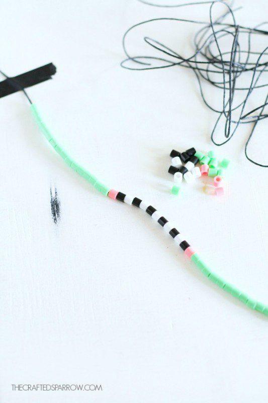 collares y pulseras a juego con hama beads para hacer en casa
