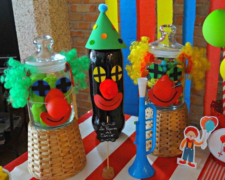fiesta cumpleaños niños circo