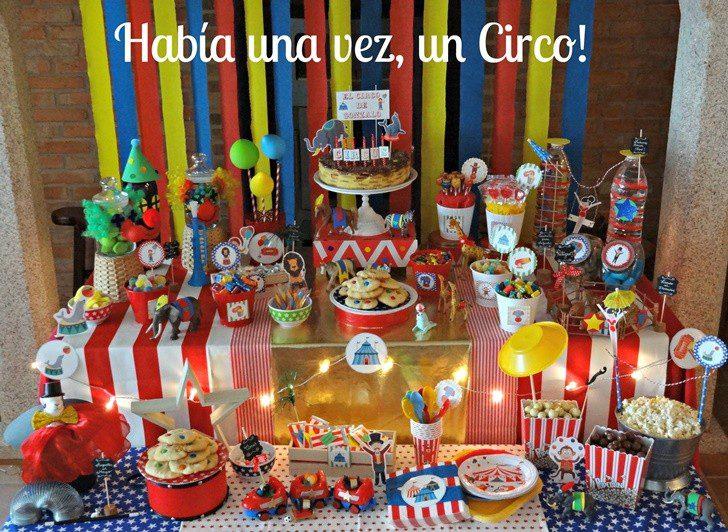 El Circo De Gonzalo Fiestas Y Cumples