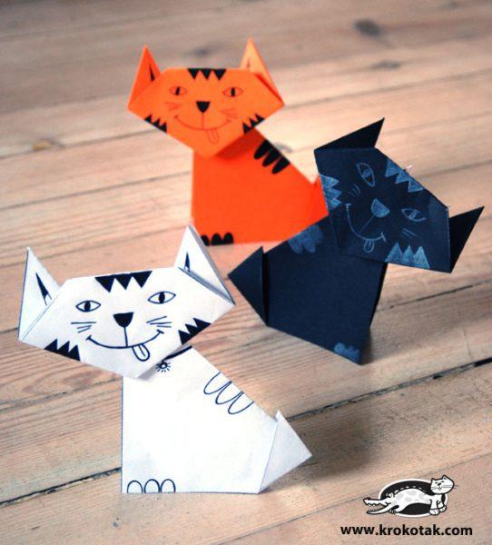 Cómo Hacer unos Gatitos en Papel – Descargables e Imprimibles