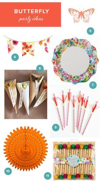 Ideas para una fiesta de mariposa para niñas