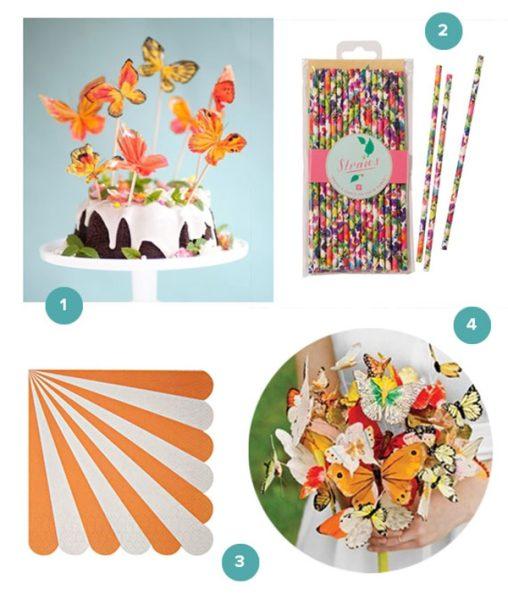 ideas-para-una-fiesta-de-mariposas infantil