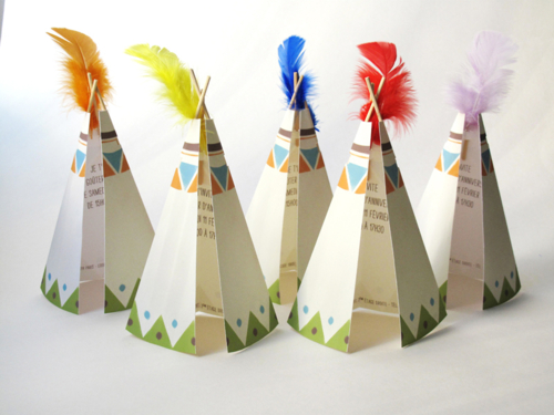 Fiesta Temática de Indios con Actividades para Niños