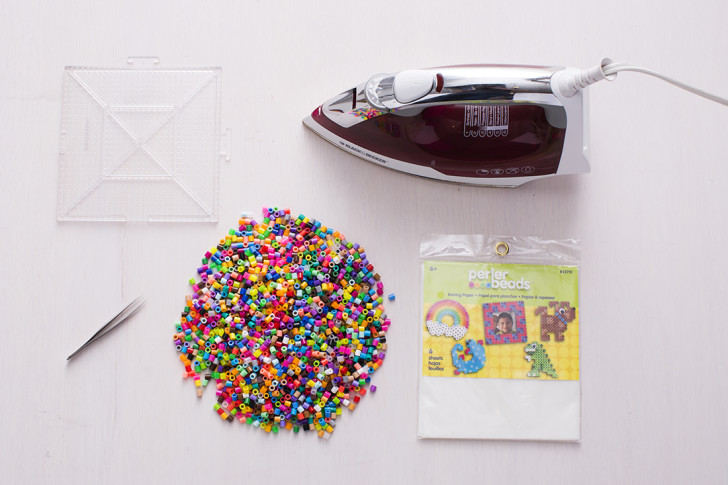 posavasos con hama beads para regalo