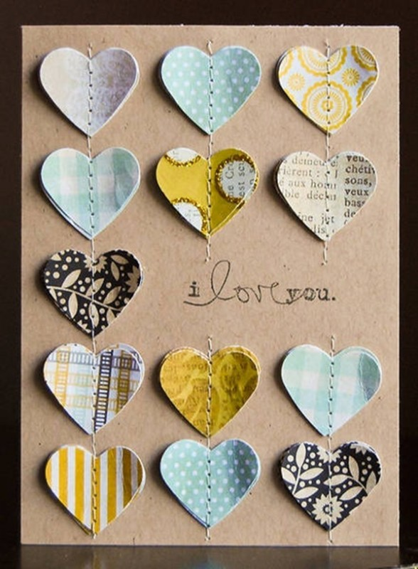 tarjetas diy para san valentin