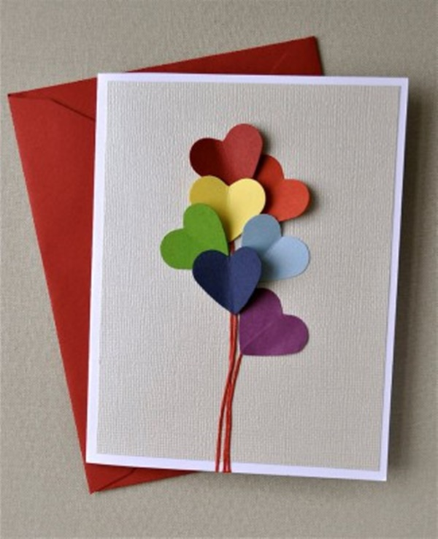 tarjetas para san valentin caseras