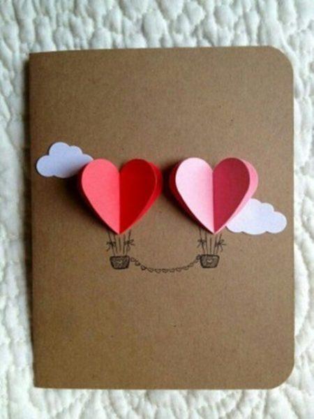 tarjetas para san valentin niños