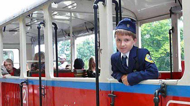 tren de los niños viajar con niños