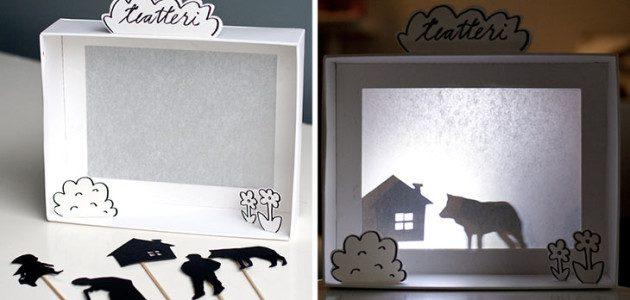 5 juguetes con cajas de cartón reciclados