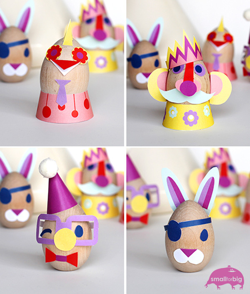 8 divertidas ideas para decorar los huevos de Pascua manualidades niños