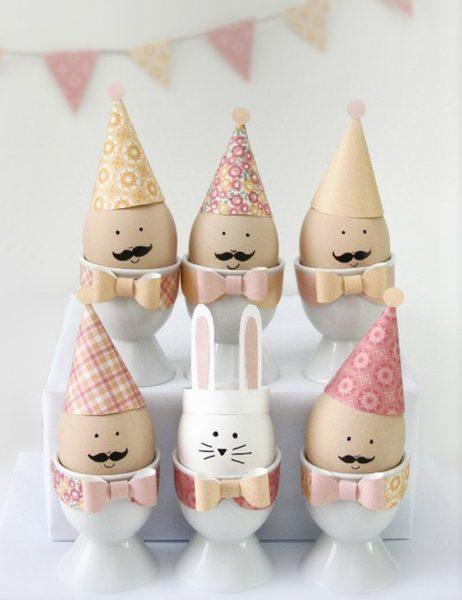 8 divertidas ideas para decorar los huevos de Pascua niños