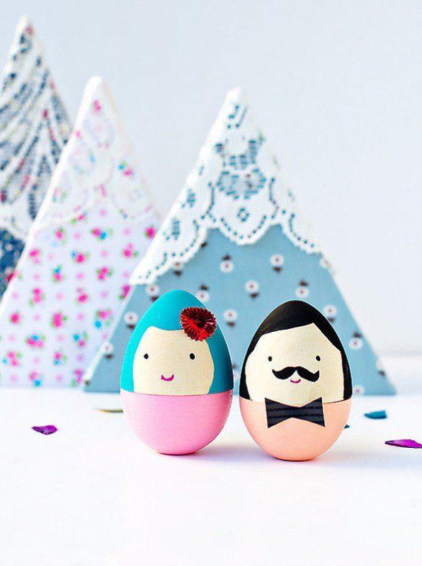 8 divertidas ideas para decorar los huevos de Pascua señores