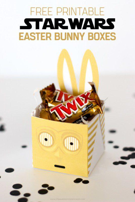Cajas de Pascua de Star Wars para niños