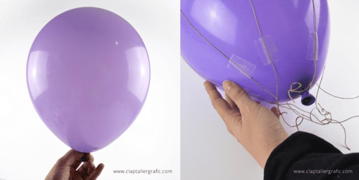 como hacer un globo aerostatico casero