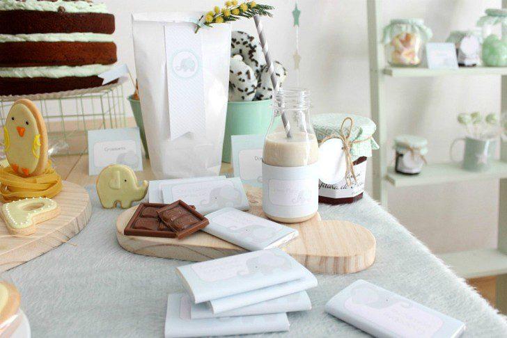 decoracion mesa fiesta para bebe