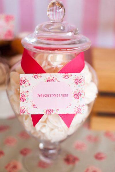 fiesta para niños de reposteria merengues