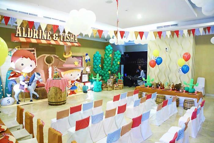 Fiesta Temática de Vaqueros para Niños