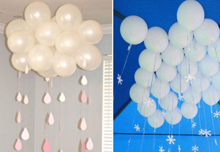 ideas-creativas-para-decorar-globos-infantiles-lluvia