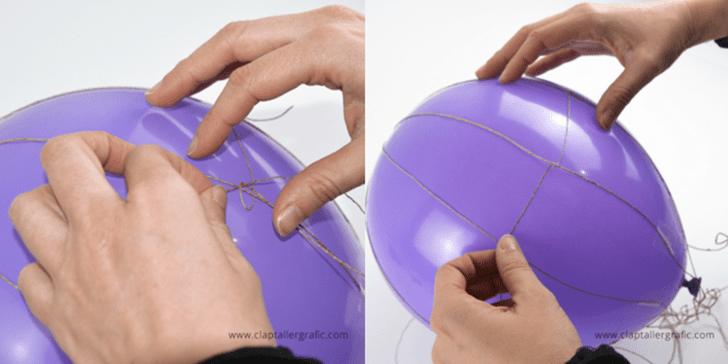 manualidades con globos en casa