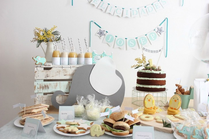 mesa dulce fiesta para bebe