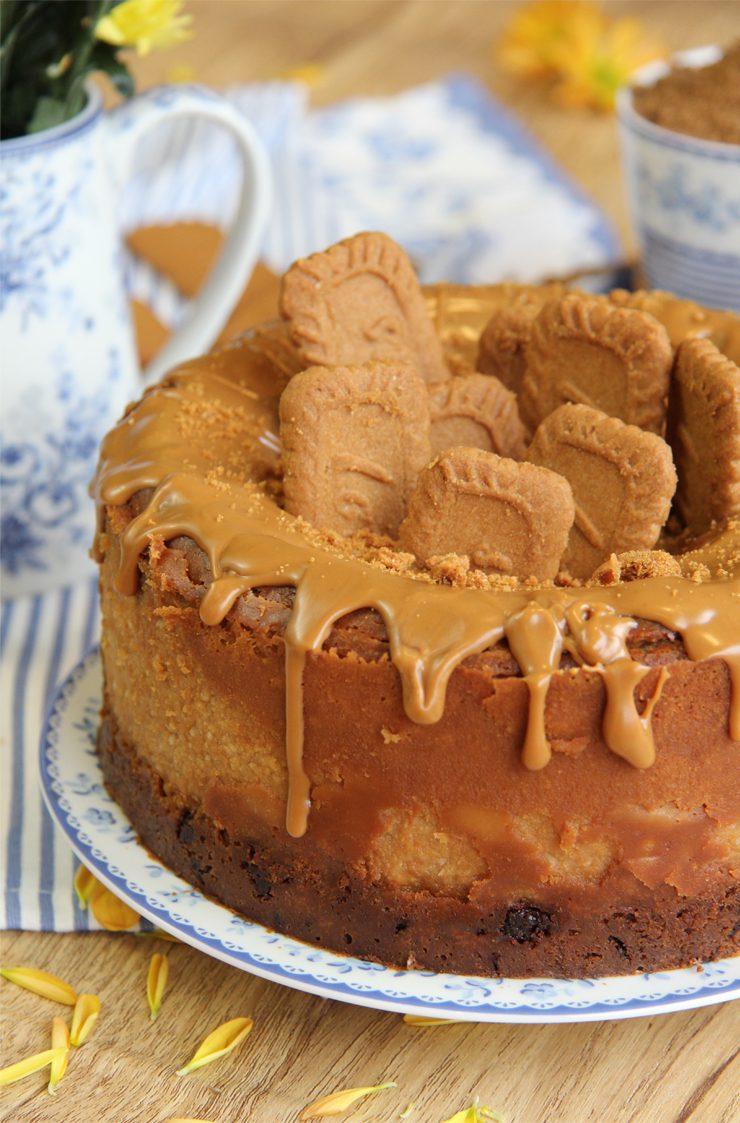 tarta de queso de lotus