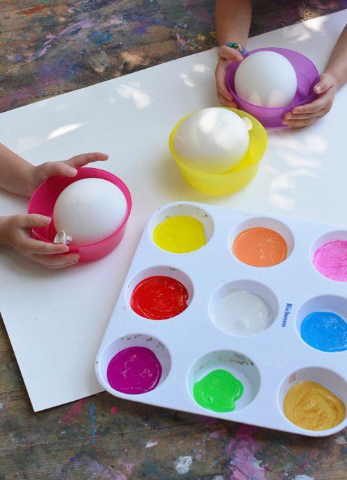 actividades infantiles con globos