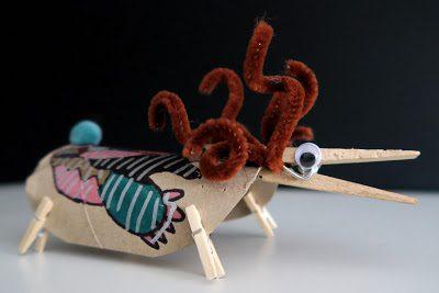 animales inventados manualidades creativas para nilos
