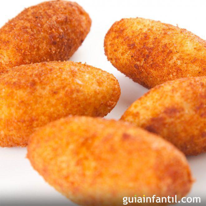Comida sin Gluten para Niños: Croquetas