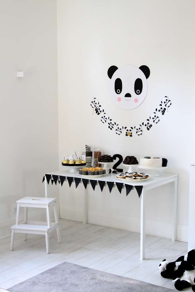 Fiesta Temática De Pandas Fiestas Y Cumples