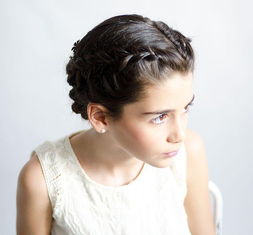 fotos de peinados de primera comunión