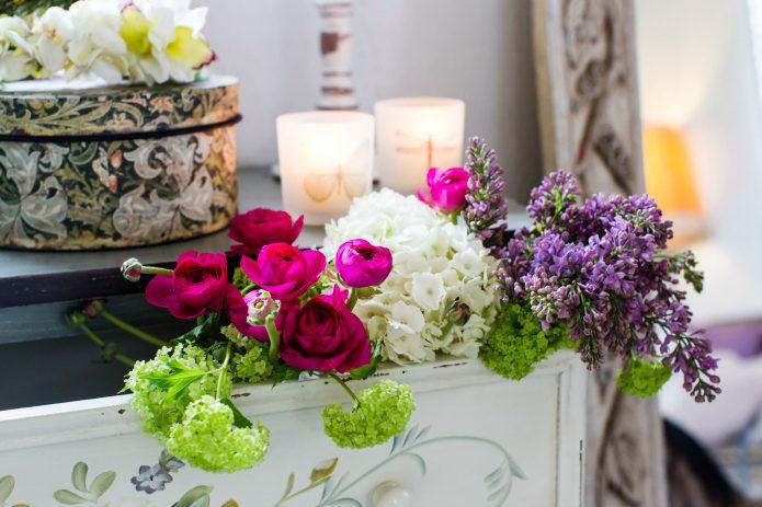hermosas flores para primera comunion