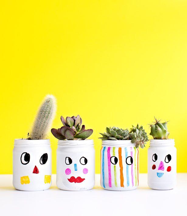 Manualidades con Niños: Pintar Macetas para Plantas