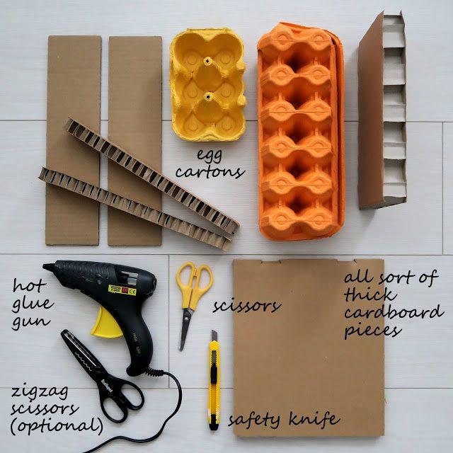 materales para inventar animales manualidades para niños