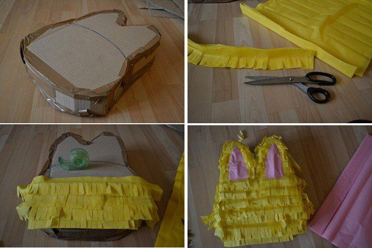 piñata de conejo decoracion